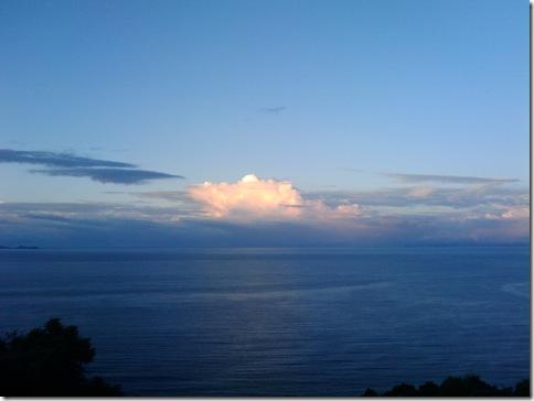 佐多岬から太平洋を望む