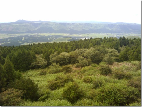 阿蘇山の外輪山