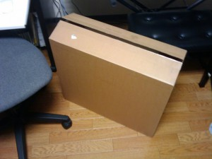 iMac の箱