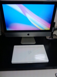 iMac と Macbook